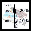 negatieven digitaliseren, negatieven scannen, fotonegatieven digitaliseren, kwantumkorting
